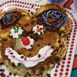 The children's surprise pancake (my child requested chocolate chips)