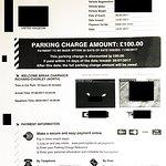 £100 Car Parking Fine