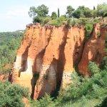Après le visite de la Sentier des Ocres, on descendra au village de Roussillon.