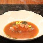 Tartare of Cornish mackerel, gazpacho