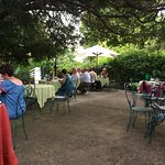 Terrraced Dining area in the Gardens