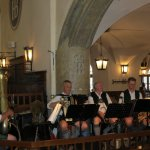 Brass band at Hofbrau