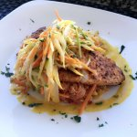 Simply divine swordfish dinner at The Wharf