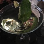 Basil Gimlet Martini (with vodka instead of gin)
