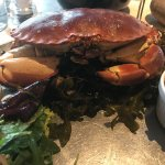 Crab main course