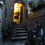 Front door in the Alley