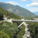 Rail to Domodossola Switzerland