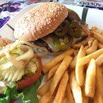 Spicy Jalapeno burger SO JUICY