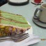 rose & pistachio cake