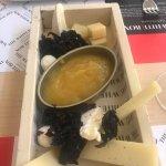 Deliciosa comida en Whitebox