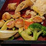 Teriyaki Scallops Bento Box Lunch
