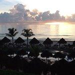 Sunrise on the ocean side
