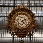 The big clock, I assume from the old train station days