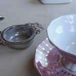 Tea service, Lady Slipper Tea selection was delish