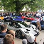 Parade of Super Cars