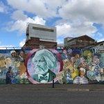 Foto de Paddy Campbell's Belfast Famous Black Cab Tours