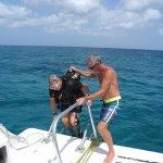 Saliendo de una hermosa inmersion