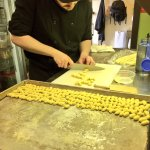 Cavatelli making