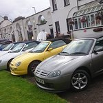 MG group run at Inveraray Inn