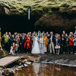 Photo c/o Kristin Maria. Pink Iceland took care of all 40 of us and gave us an unforgettable wed