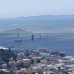 View of the Astoria/Megler Bridge