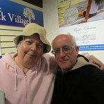 Louis and I at Olde Mistick Village.