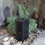 Room 11 private patio fountain