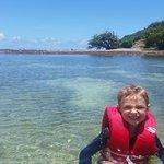 Beautiful snorkeling waters. My 5 y.o. loved it!