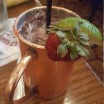 Strawberry mule.