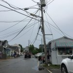 Not what I call picturesque. All those wires and dumpy buildings