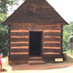 Reconstructed slaves quarters