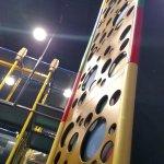 Climbing column
