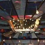 Interesting ceiling at Wurst Bier Hall. Check it out!