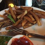 Soggy overcooked oily fries