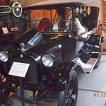 This 1916 Dodge is on display.