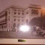 A very old photograph of this hotel