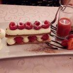 Millefeuille framboises crème mascarpone à la Vanille Bourbon
