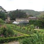 Part of walled garden near the castle