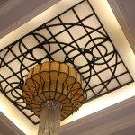 Hotel Main Lobby  -  great Ceiling Light  . . .