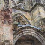 entrance of Rosslyn Chapel