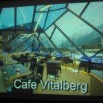 Screenshot Ansicht Café Vitalberg mit AUssicht