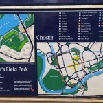 Map of Park where Statue of Minerva stands