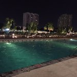 Terrace Pool at night