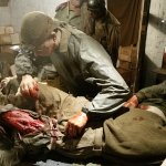 One of several dioramas from 101 Airborne museum.
