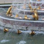 fontaine dans les jardins