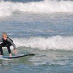 Riding the waves at Bondi Beach