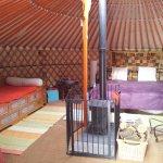 Yurt 1 interior