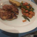 Grilled chicken with Cajun sauce