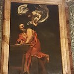 'The Inspiration of St. Matthew' by Caravaggio