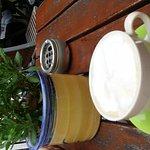 Kaffee am Flüsterbogen Foto